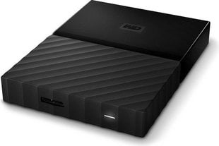 "WD My Passport 2.5"" 2 TB, USB 3.0, Juoda"