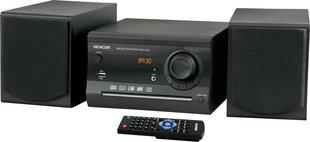 Sencor SMC 603 CD RIP, juoda