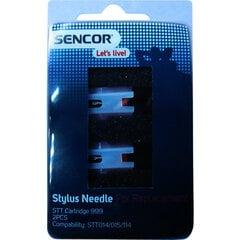 Patefono adatos Sencor STT CARTRIDGE 999, 2 vnt. kaina ir informacija | Plokštelių grotuvai ir patefonai | pigu.lt