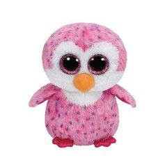 Pliušinis žaislas  TY Beanie Boos Glider rožinis pingvinas, 15 cm, 36177