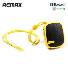 Telefono priedas Garso kolonėlė Remax RB-X2MI, Bluetooth 3.0 + FM Radijas + MicroSD, Geltona