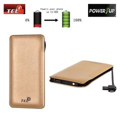 Tel1 Power Bank 12000mAh, Auksinė
