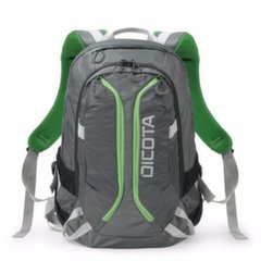 DICOTA - BackPack Active 14-15.6'' grey/lime