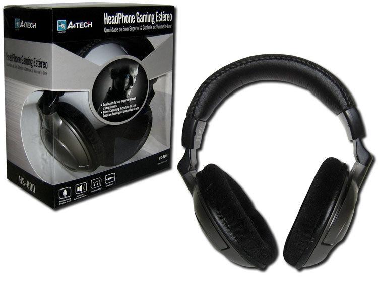 Laidinės ausinės A4Tech HS-800 internetu