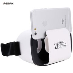 """Remax RT-VM02 3D Universal 3.5-6"""" Smartphone Virtual Reality VR Glasses with Easy and Smart Fix White"""