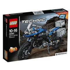 Konstruktorius LEGO® Technic BMW R 1200 GS nuotykis 42063 kaina ir informacija | Konstruktoriai ir kaladėlės | pigu.lt