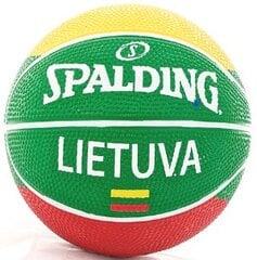 Krepšinio kamuolys Spalding RBR Lietuva, 1 dydis