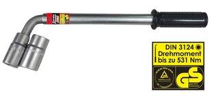 "Heyner Torsio Power ""L"" formos ratų raktas 17,19,21,23mm"