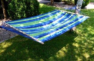 Hamakas, 100x200 cm, mėlynas/žalias