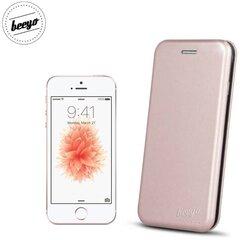 Apsauginis dėklas Beeyo Diva Series skirtas Apple iPhone 5/5S/SE, Rausvo aukso