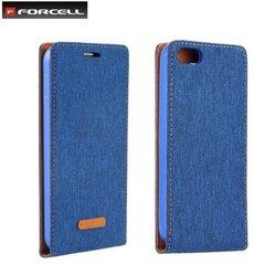 Atvečiamas dėklas Forcell Canvas Flexi case skirtas Huawei Honor 5C/Honor 7 Lite, Mėlynas kaina ir informacija | Telefono dėklai | pigu.lt