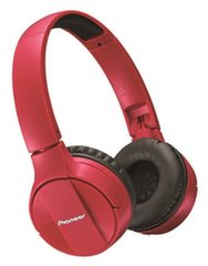 Bluetooth наушники Pioneer SE- MJ553 BT-R, Bluetooth 3.0, красный