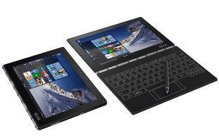 Lenovo IdeaTab Yoga Book 1-X90L 10.1'' Juoda
