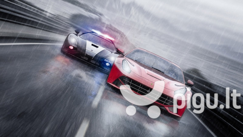 Need for Speed Rivals, PS4 internetu