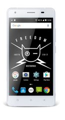 Just5 Freedom M303, Dual Sim, Balta