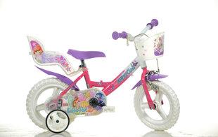 """Mergaičių dviratukas Dino Bikes Winx 12"""", 124RL-WX7"""