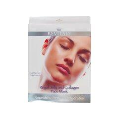 Intersyviai drėkinanti veido kaukė Revitale Royal Jelly & Collagen 2 vnt.