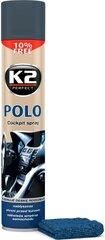 Panelės polirolis K2 Polo Cockpit kaina ir informacija | Automobilinė chemija | pigu.lt