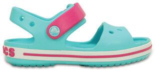 Crocs™ basutės Crocband Sandal, Pool / Candy Pink