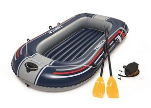 Pripučiama valtis Bestway Treck X1, 228x121 cm, dvivietė kaina ir informacija | Valtys ir baidarės | pigu.lt