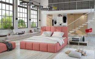 Lova Edvige, 180x200 cmm rožinė kaina ir informacija | Lovos | pigu.lt