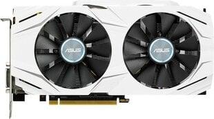 Asus GeForce GTX 1060 DUAL OC 3GB GDDR5 (192 Bit) DVI, 2xHDMI, 2xDP, BOX (DUAL-GTX1060-O3G) kaina ir informacija | Vaizdo plokštės (GPU) | pigu.lt