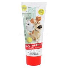Vaikiška dantų pasta Universal The Secret Life Of Pets Toothpaste Strawberry 75 ml