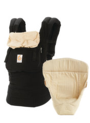 Nešioklė su įdėklu naujagimiui Ergobaby Original, Black/Camel, BCIIABKCMV3