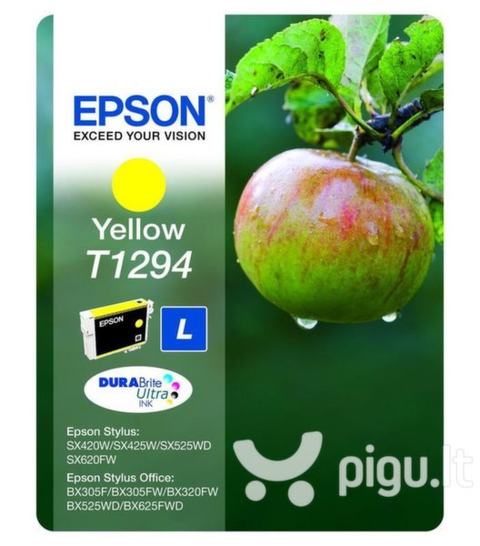 Epson - Tusz T1294 YELLOW 7.0ml do serii BX/SX