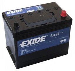 Akumuliatorius EXIDE Excell EB704 70Ah 540A kaina ir informacija | Akumuliatorius EXIDE Excell EB704 70Ah 540A | pigu.lt