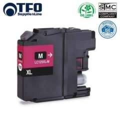 TFO Brother LC125XL (LC-125XLM) Magenta INK Cartridge 15ml for DCP-J4110DW etc HQ Premium Analog