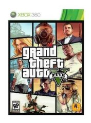 GAME GRAND THEFT AUTO V/XBOX 360 PAL MICROSOFT