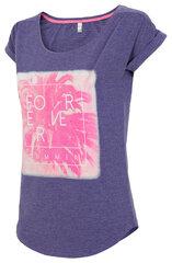 Marškinėliai moterims 4F TSD010 kaina ir informacija | Marškinėliai moterims | pigu.lt