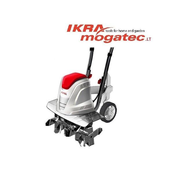 Elektrinis kultivatorius 1,5 kW Ikra Mogatec FEM 1500 kaina