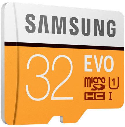 Atminties kortelė Samsung EVO microSDHC 32GB UHS-I U1 internetu