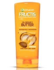 Balzamas sausiems plaukams Garnier Fructis Oil Repair 3 Butter 200 ml