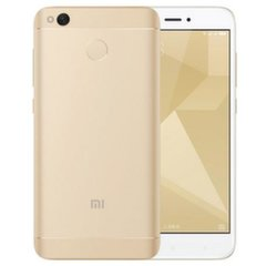 Xiaomi Redmi 4X Global, Dual SIM, 32 GB, auksinis