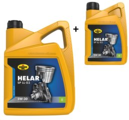 Akcija! Alyva KROON-OIL Helar SP 5W-30 LL-03, 5L+1L