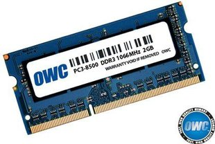 OWC SO-DIMM DDR3 2GB 1066MHz CL7 Apple Qualified (OWC8566DDR3S2GB)