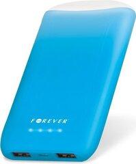 Atsarginis maitinimo šaltinis (Power Bank) su žibintuvėliu Forever TB-011 8000 mAh, mėlynas