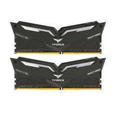 Team Group Nighthawk, DDR4, 2x8GB, 3200MHz, CL16, LED White (THWD416G3200HC16CDC01) kaina ir informacija | Operatyvioji atmintis (RAM) | pigu.lt