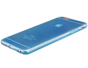 Mocco Ultra Back Case 0.3 mm Silicone Case for Apple iPhone 5 / 5S / SE Blue