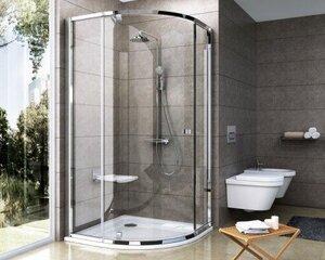 Pusapvalė dušo kabina Ravak PSKK3, 100x100 cm
