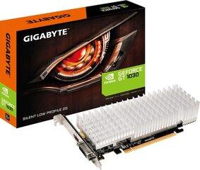 Gigabyte GeForce GT 1030 Silent Low Profile 2GB GDDR5 (64 Bit), DVI-D, HDMI, BOX (GV-N1030SL-2GL) kaina ir informacija | Gigabyte GeForce GT 1030 Silent Low Profile 2GB GDDR5 (64 Bit), DVI-D, HDMI, BOX (GV-N1030SL-2GL) | pigu.lt