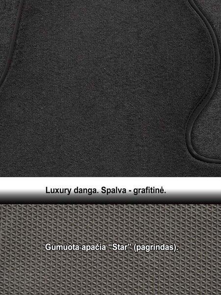 Kilimėliai ARS MERCEDES-BENZ S-class W220 1998-2005 (Long) /16\2 Luxury atsiliepimas