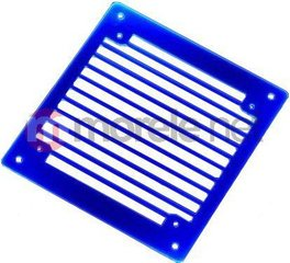 AC Ryan RadGrillz Stripes 1x120mm - Acryl UV Blue (ACR-RG20939)