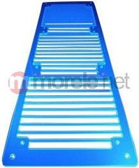 AC Ryan RadGrillz Stripes 3x120mm - Acryl UV Blue (ACR-RG20953)