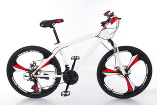 """Kalnų dviratis Louke 1, 26"""", baltas"""