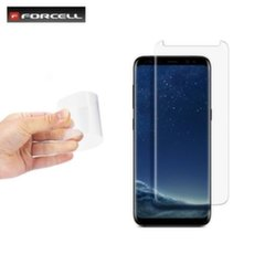 Forcell Flexible 0.2mm 9H Hybrid Anti scratch Premium Tempered Glass Samsung G950 Galaxy S8 nepilno ekrano