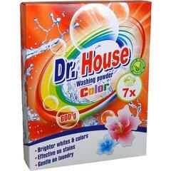 Dr. House skalbimo milteliai Color, 0,6 kg kaina ir informacija | Skalbimo priemonės | pigu.lt